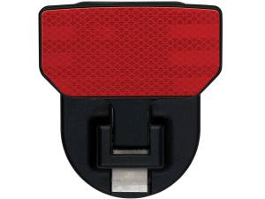 Carr - Carr HD Universal Hitch Step, Reflector, single, fits 2 inch Reciever 183242 - Image 1