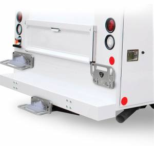 Carr - Carr Mega Hitch Step Fits 2 and 2.5 in. Reciever, Polilshed, Foldable 194012 - Image 2