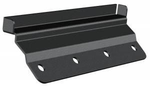 Carr - Carr Gutter-lessMount Black. Corroision resistant die cast Aluminum 220081 - Image 1