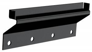 Carr - Carr Gutter-lessMount Black. Corroision resistant die cast Aluminum 220541 - Image 1