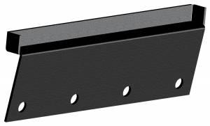 Carr - Carr Gutter-lessMount Black. Corroision resistant die cast Aluminum 223411 - Image 1