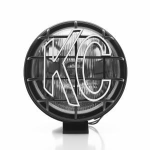 "KC HiLiTES - KC HiLiTES 6"" Apollo Pro Halogen - Black - KC #1151 (Spread Beam) 1151 - Image 4"