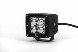 "KC HiLiTES - KC HiLiTES 3"" C-Series C3 LED Spot with Amber LED Black Single - #1315 1315 - Image 5"