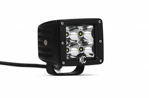"KC HiLiTES - KC HiLiTES 3"" C-Series C3 LED Spot Beam Black Single - #1330 1330 - Image 4"