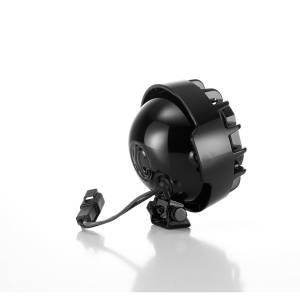 "KC HiLiTES - KC HiLiTES 4"" Rally 400 Halogen Single Light - Black - KC #1490 (Spread Beam) 1490 - Image 1"