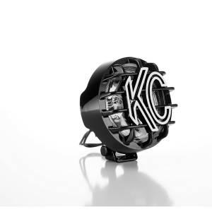 "KC HiLiTES - KC HiLiTES 4"" Rally 400 Halogen Single Light - Black - KC #1490 (Spread Beam) 1490 - Image 2"