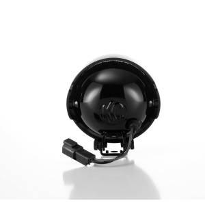 "KC HiLiTES - KC HiLiTES 4"" Rally 400 Halogen Single Light - Black - KC #1490 (Spread Beam) 1490 - Image 3"