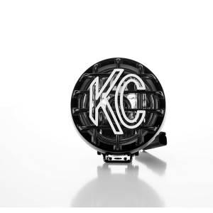 "KC HiLiTES - KC HiLiTES 4"" Rally 400 Halogen Single Light - Black - KC #1490 (Spread Beam) 1490 - Image 4"