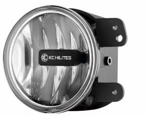KC HiLiTES - KC HiLiTES Gravity LED G4 2010-2018 Jeep JK LED Fog Clear Single - #1497 1497 - Image 3