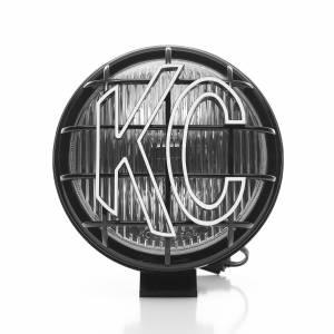 "KC HiLiTES - KC HiLiTES 6"" Apollo Pro Halogen Pair Pack System - Black - KC #152 (Fog Beam) 152 - Image 4"