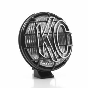 "KC HiLiTES - KC HiLiTES 6"" Apollo Pro Halogen Pair Pack System - Black - KC #152 (Fog Beam) 152 - Image 5"