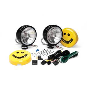 "KC HiLiTES - KC HiLiTES 6"" Daylighter Halogen Pair Pack System - Black - KC #234 (Spread Beam) 234 - Image 2"