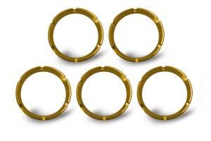 KC HiLiTES - KC HiLiTES KC FLEX Bezels - Gold ED Coated (5 pack) - #30562 30562 - Image 1