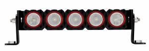 KC HiLiTES - KC HiLiTES KC FLEX Bezels -  Red ED Coated (5 pack) 30564 - Image 2