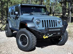 "KC HiLiTES - KC HiLiTES 50"" C Series C50 LED Bar & Overhead Mount Bracket Kit - Jeep JK 07-18 - KC #366 366 - Image 3"