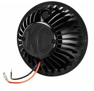 "KC HiLiTES - KC HiLiTES 6"" Gravity LED Insert Pair Pack System - KC #42054 (Driving Beam) 42054 - Image 3"
