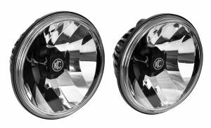 "KC HiLiTES - KC HiLiTES 6"" Gravity LED Insert Pair Pack System - KC #42056 (Wide-40 Beam) 42056 - Image 3"
