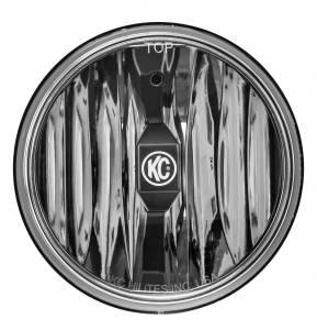 "KC HiLiTES - KC HiLiTES 6"" Gravity LED Insert Pair Pack System - KC #42056 (Wide-40 Beam) 42056 - Image 6"