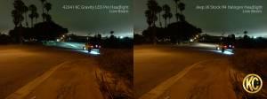 "KC HiLiTES - KC HiLiTES Gravity LED Pro 7"" Single Headlight for Jeep JK 2007-2018 - DOT Compliant 4234 - Image 5"