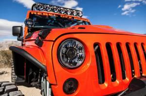 "KC HiLiTES - KC HiLiTES Gravity LED Pro 7"" Single Headlight for Jeep JK 2007-2018 - DOT Compliant 4234 - Image 6"
