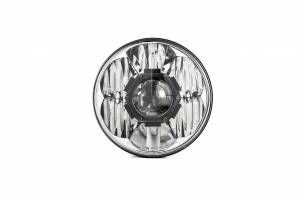 "KC HiLiTES - KC HiLiTES Gravity LED Pro 7"" Single Headlight for Jeep JK 2007-2018 - DOT Compliant 4234 - Image 9"