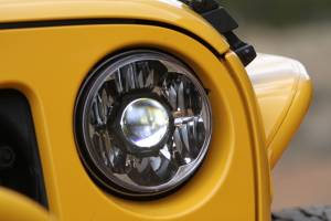 "KC HiLiTES - KC HiLiTES Gravity LED Pro 7"" Single Headlight for Jeep JK 2007-2018 - DOT Compliant 4234 - Image 13"