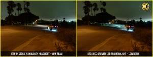 """KC HiLiTES - KC HiLiTES Gravity LED Pro 7"""" Headlight DOT Jeep JK 07-18 Pair Pack System - KC #42341 42341 - Image 1"""