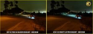 """KC HiLiTES - KC HiLiTES Gravity LED Pro 7"""" Headlight DOT Jeep JK 07-18 Pair Pack System - KC #42341 42341 - Image 3"""