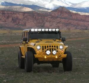 """KC HiLiTES - KC HiLiTES Gravity LED Pro 7"""" Headlight DOT Jeep JK 07-18 Pair Pack System - KC #42341 42341 - Image 9"""