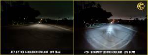 """KC HiLiTES - KC HiLiTES Gravity LED Pro 7"""" Headlight DOT Jeep JK 07-18 Pair Pack System - KC #42341 42341 - Image 16"""