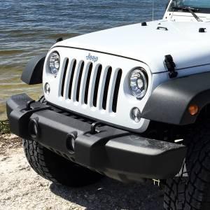 """KC HiLiTES - KC HiLiTES Gravity LED Pro 7"""" Headlight DOT Jeep JK 07-18 Pair Pack System - KC #42341 42341 - Image 17"""