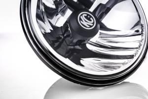 """KC HiLiTES - KC HiLiTES Gravity LED 7"""" Headlight DOT Jeep TJ 97-06/Universal H4 Pair Pack 42361 - Image 3"""