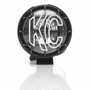 "KC HiLiTES - KC HiLiTES 5"" Apollo Pro Halogen Pair Pack System - Black - KC #451 (Spread Beam) 451 - Image 4"