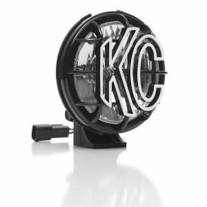 "KC HiLiTES - KC HiLiTES 5"" Apollo Pro Halogen Pair Pack System - Black - KC #451 (Spread Beam) 451 - Image 5"