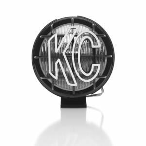 "KC HiLiTES - KC HiLiTES 5"" Apollo Pro Halogen Pair Pack System - Black - KC #452 (Fog Beam) 452 - Image 1"
