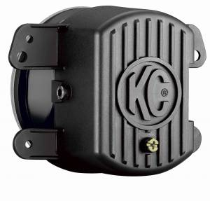 KC HiLiTES - KC HiLiTES Gravity LED G4 Fog Light Pair Pack for Jeep 07-09 JK - KC #494 (Fog Beam) 494 - Image 2