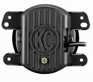 KC HiLiTES - KC HiLiTES Gravity LED G4 Fog Light Pair Pack for Jeep 07-09 JK - KC #494 (Fog Beam) 494 - Image 3