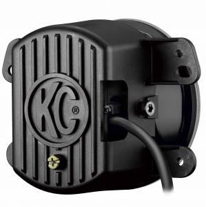 KC HiLiTES - KC HiLiTES Gravity LED G4 Fog Light Pair Pack for Jeep 07-09 JK - KC #494 (Fog Beam) 494 - Image 4