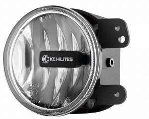 KC HiLiTES - KC HiLiTES Gravity LED G4 Fog Light Pair Pack for Jeep 07-09 JK - KC #494 (Fog Beam) 494 - Image 5