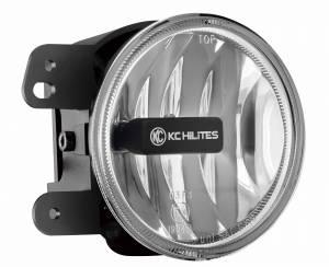 KC HiLiTES - KC HiLiTES Gravity LED G4 Fog Light Pair Pack for Jeep 07-09 JK - KC #494 (Fog Beam) 494 - Image 7