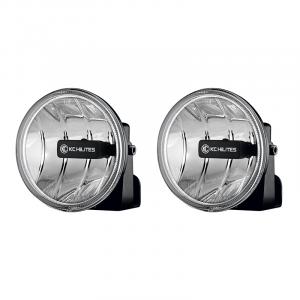KC HiLiTES - KC HiLiTES Gravity LED G4 Fog Light Pair Pack System #495 - ( Amber Universal ) 495 - Image 1