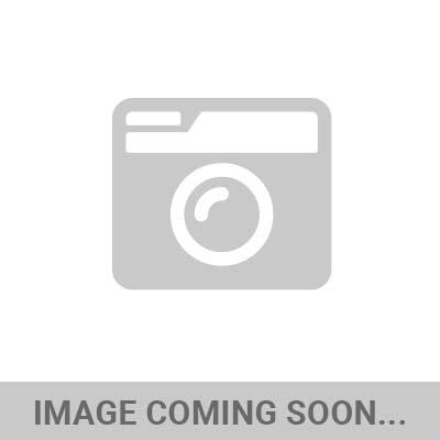 """KC HiLiTES - KC HiLiTES 6"""" Vinyl Cover - KC #5110 (Black with Red Brushed KC Logo) 5110 - Image 1"""