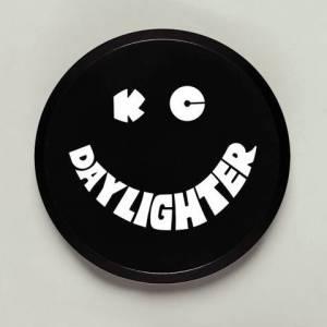 "KC HiLiTES - KC HiLiTES 6"" Plastic Cover - KC #5200 (Black with White KC Daylighter Logo) 5200 - Image 1"