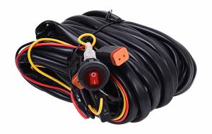 KC HiLiTES - KC HiLiTES Wiring Harness for Two Backup Lights with 2-Pin Deutsch Connectors - KC #63091 63091 - Image 1