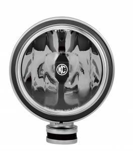 "KC HiLiTES - KC HiLiTES 6"" Daylighter with Gravity LED G6 Spot Beam Black Pair Pack - #651 651 - Image 4"
