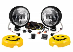 """KC HiLiTES - KC HiLiTES 6"""" Daylighter with Gravity LED G6 SAE Driving Beam Black Pair Pack - #653 653 - Image 4"""