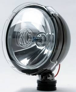 "KC HiLiTES - KC HiLiTES 6"" LiteShield Acrylic Cover - KC #7207 (Clear) 7207 - Image 2"