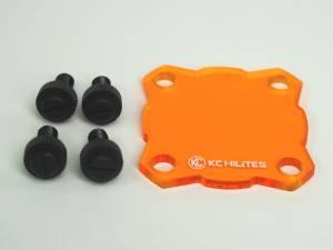 KC HiLiTES - KC HiLiTES Shield for KC FLEX Single (Amber) 72082 - Image 1