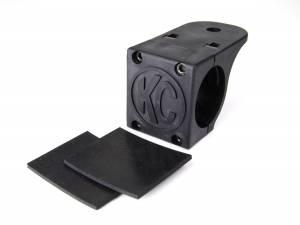 "KC HiLiTES - KC HiLiTES Tube Clamp Mount Bracket for 1.75"" to 2"" Round Light Bars and Roof Racks 7307 - Image 1"