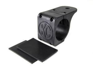"KC HiLiTES - KC HiLiTES Tube Clamp Mount Bracket for 2.25"" to 2.5"" Round Light Bars and Roof Racks 7308 - Image 1"
